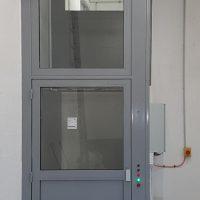 SAFtech . Centre administratif . Elévateur monte-charge . NIV-MCI 2 niveaux . NIV0