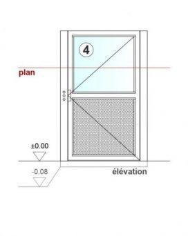 SAFtech . Elévateur monte-charge NIV-MCX S . élévation